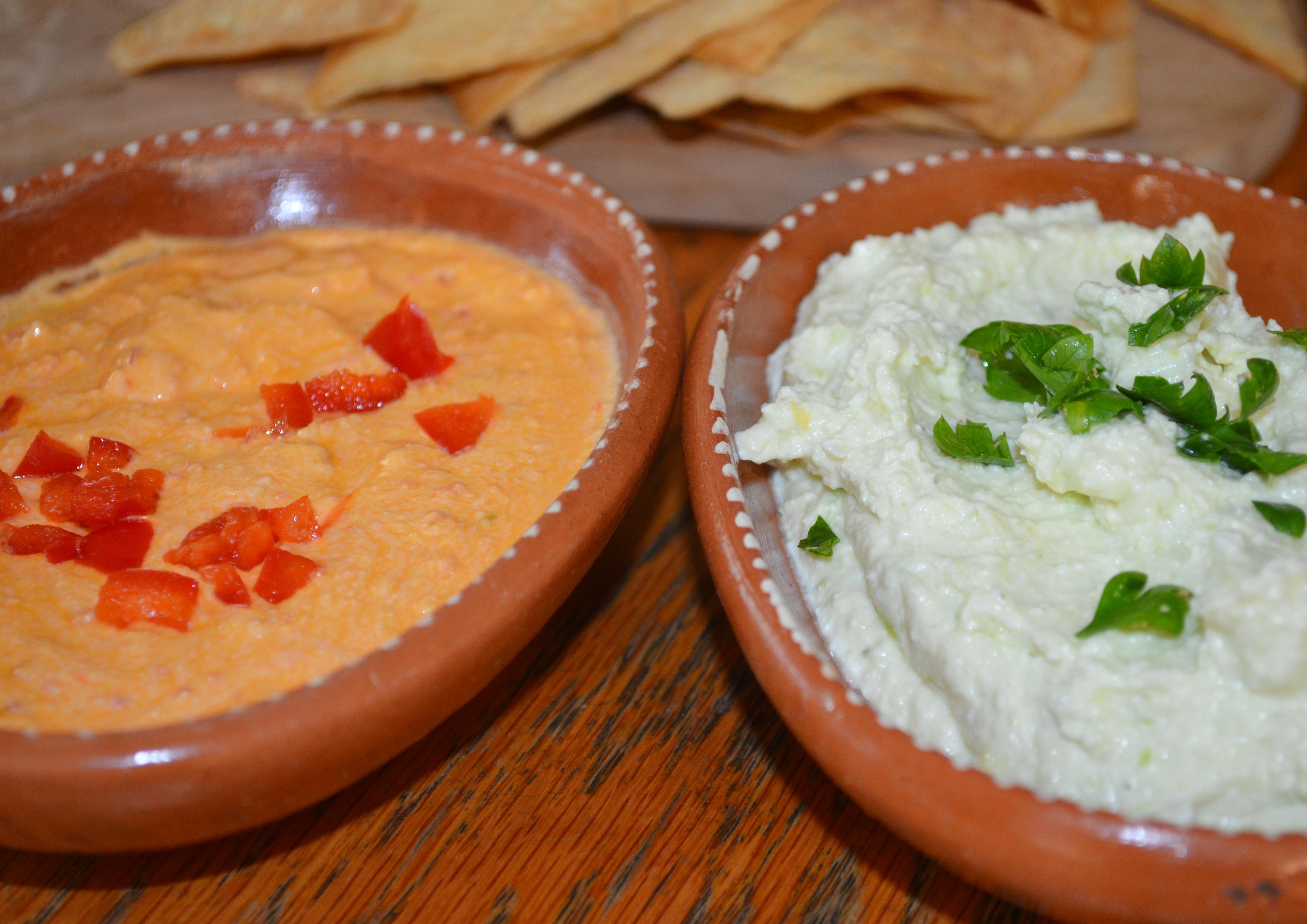 Tyrokafteri (Spicy cheese dip)